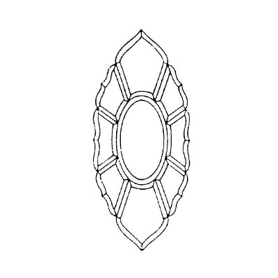 """VBC-304 : 8-3/4""""×20"""", 9PCS"""