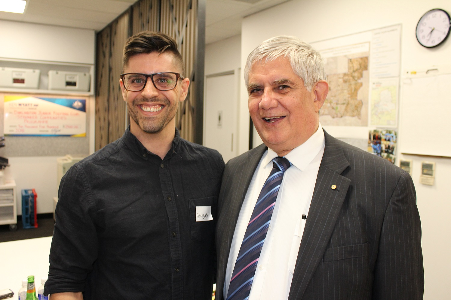 Reuben Adams, Forrestfield - Ken is genuine, approachable and someone that cares about his community.