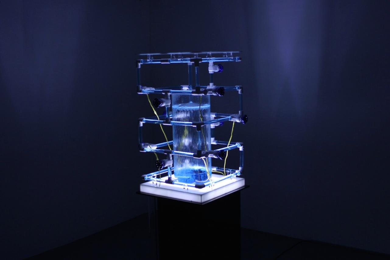 AQUAPHONICS V2, 2015  water-sound installation