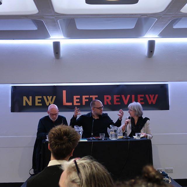 With Evgeny Morozov and Brian Eno @barbicancentre  _ 바비칸센터에서 나의 영웅 브라이언 이노를 만남.