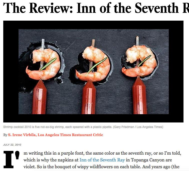 Los Angeles Times Review - S. Irene Virbila