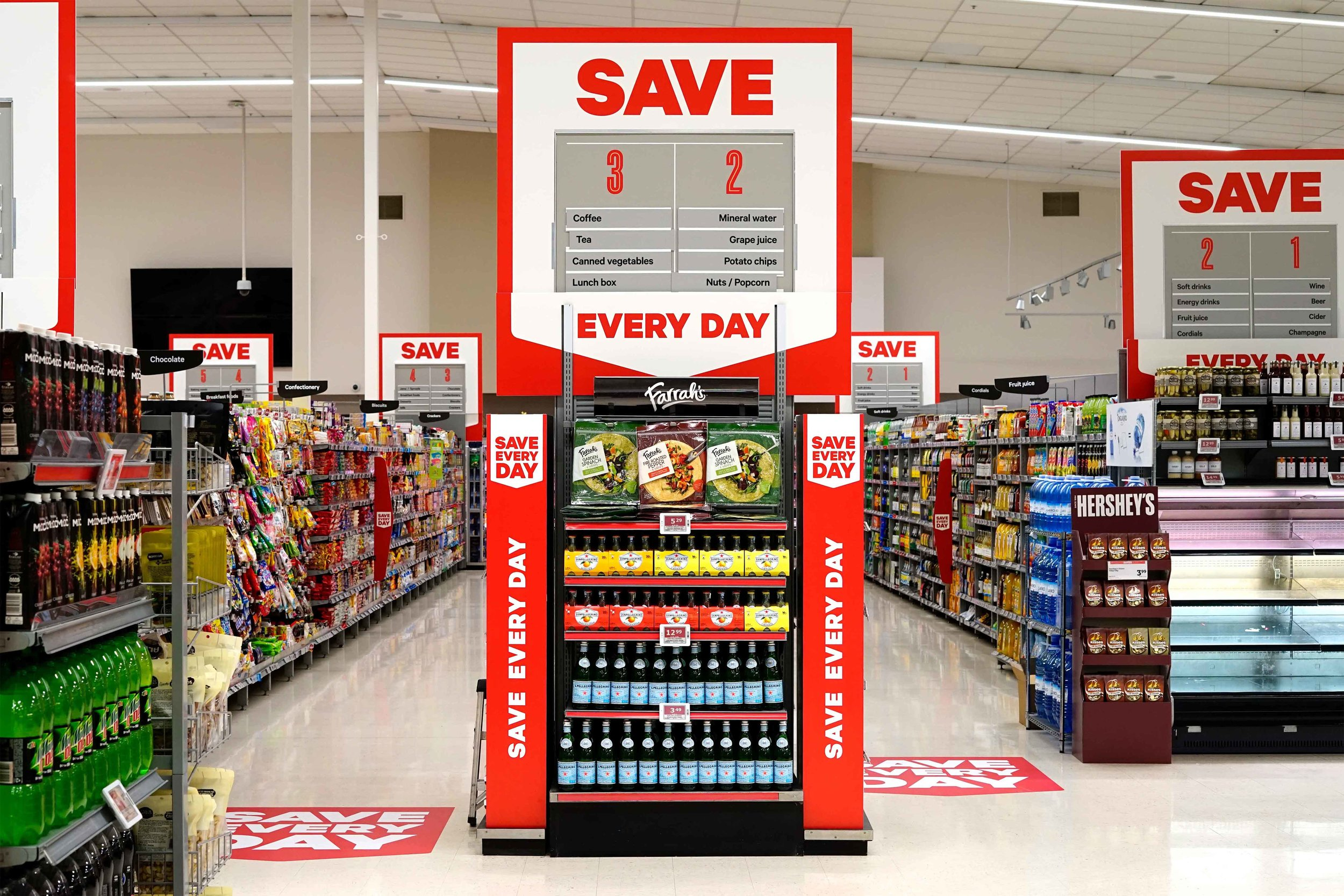 POS Management - We don't just represent the interests of supplier or third party brands in your stores, we can help you deliver captivating POS displays to help reinforce your brand principles or promote seasonal activations.— New World Save Every Day