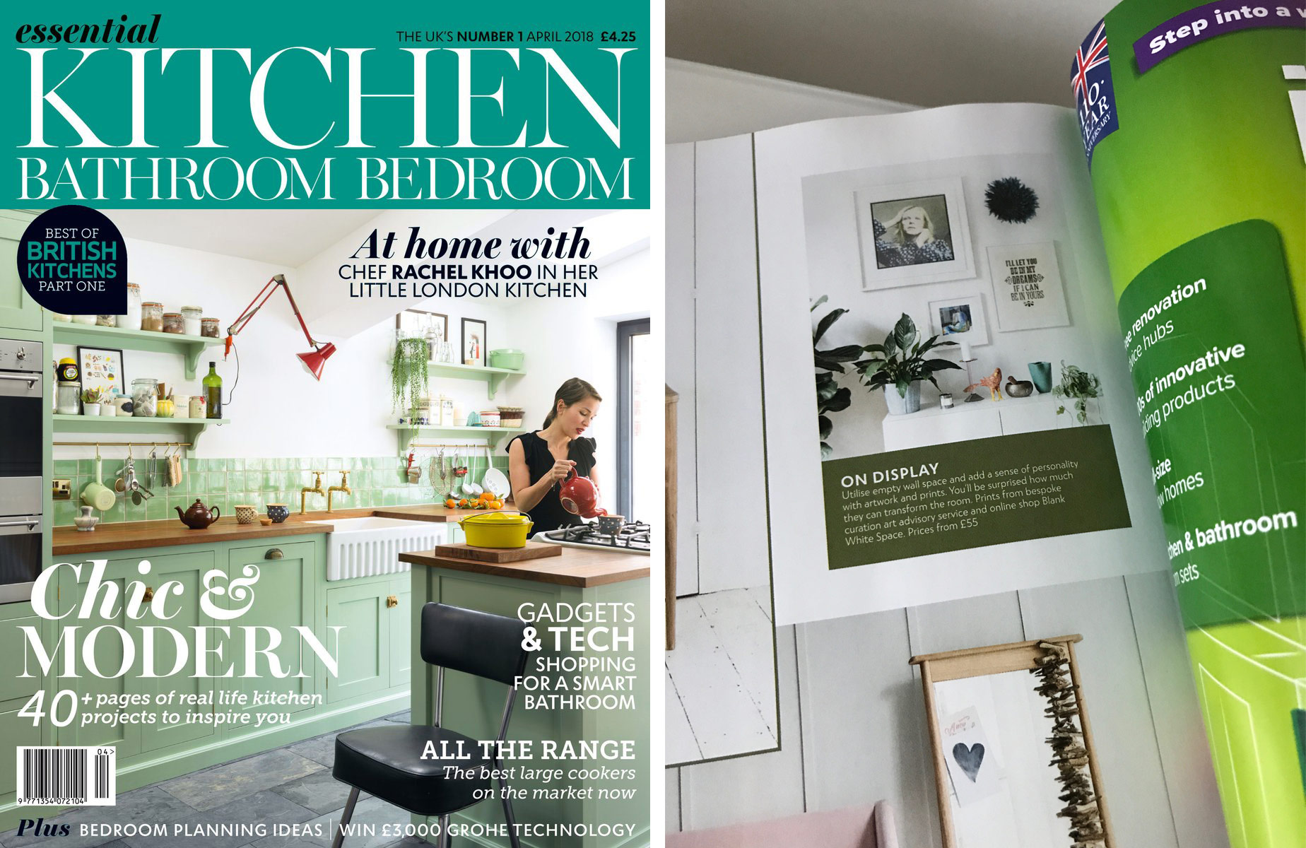 Essential Kitchen Bathroom Bedroom  – April 2018