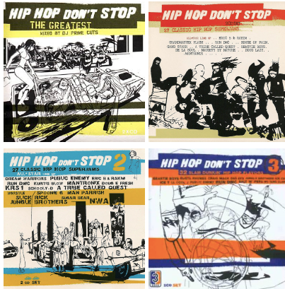 Hip_Hop_Don't_Stop - Wall_Art