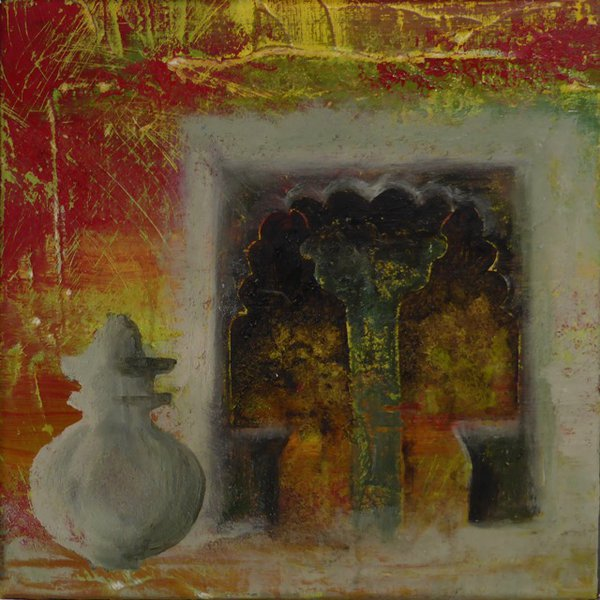 Silver jar, Rajasthan