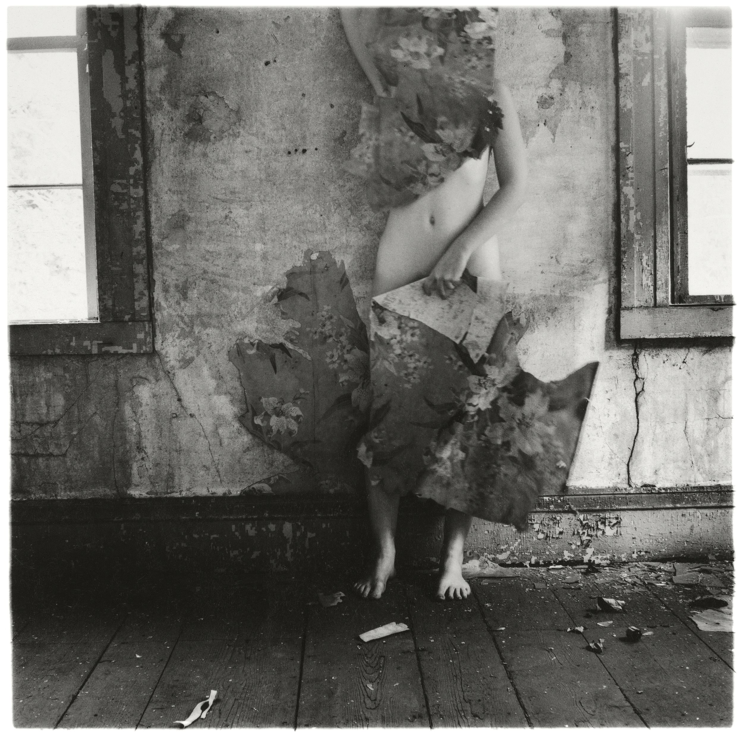 Francesca Woodman, From Space², Providence, Rhode Island, 1976 © George and Betty Woodman