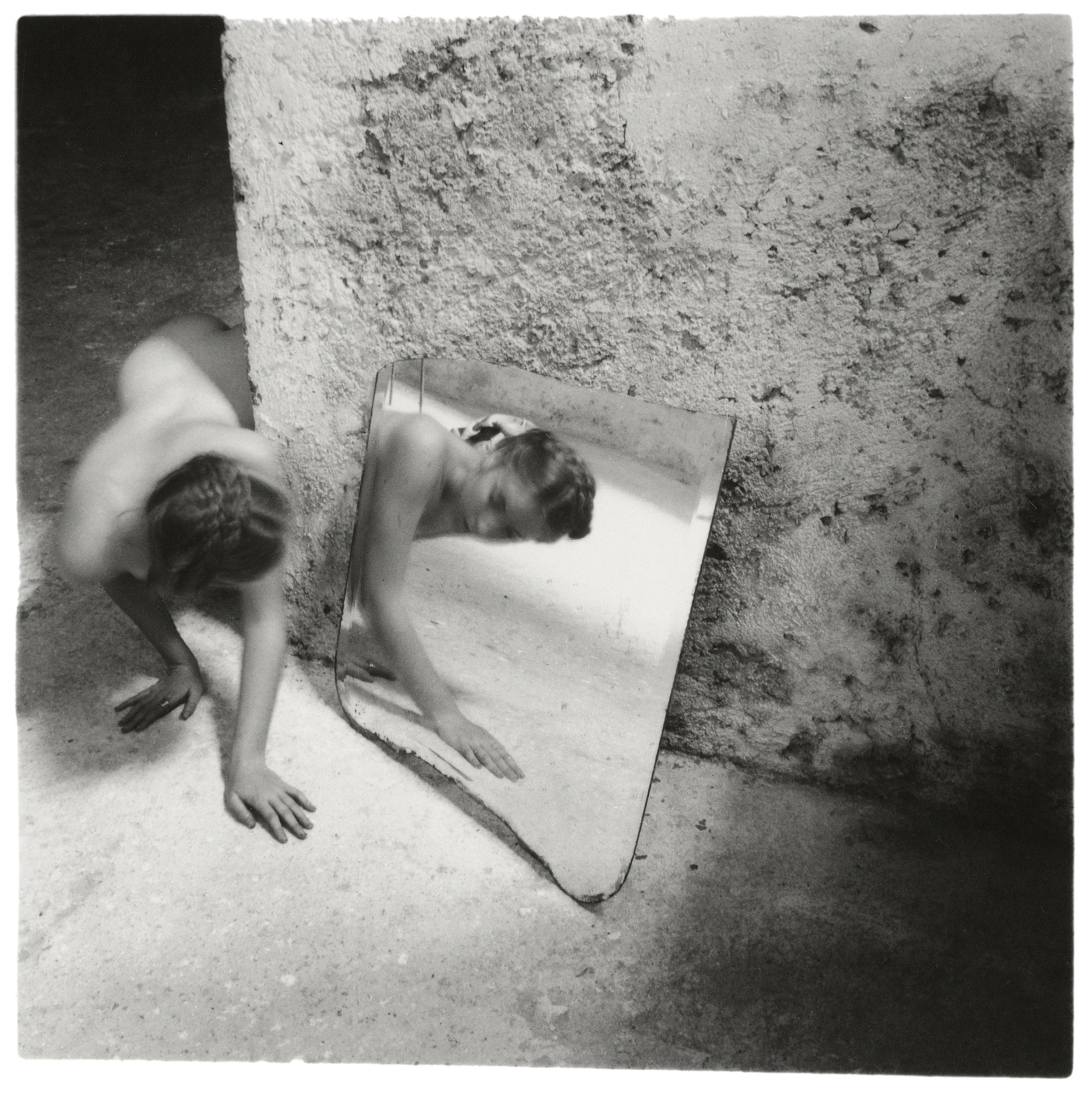 Francesca Woodman, Self-deceit #1, Rome, Italy, 1978 © George and Betty Woodman