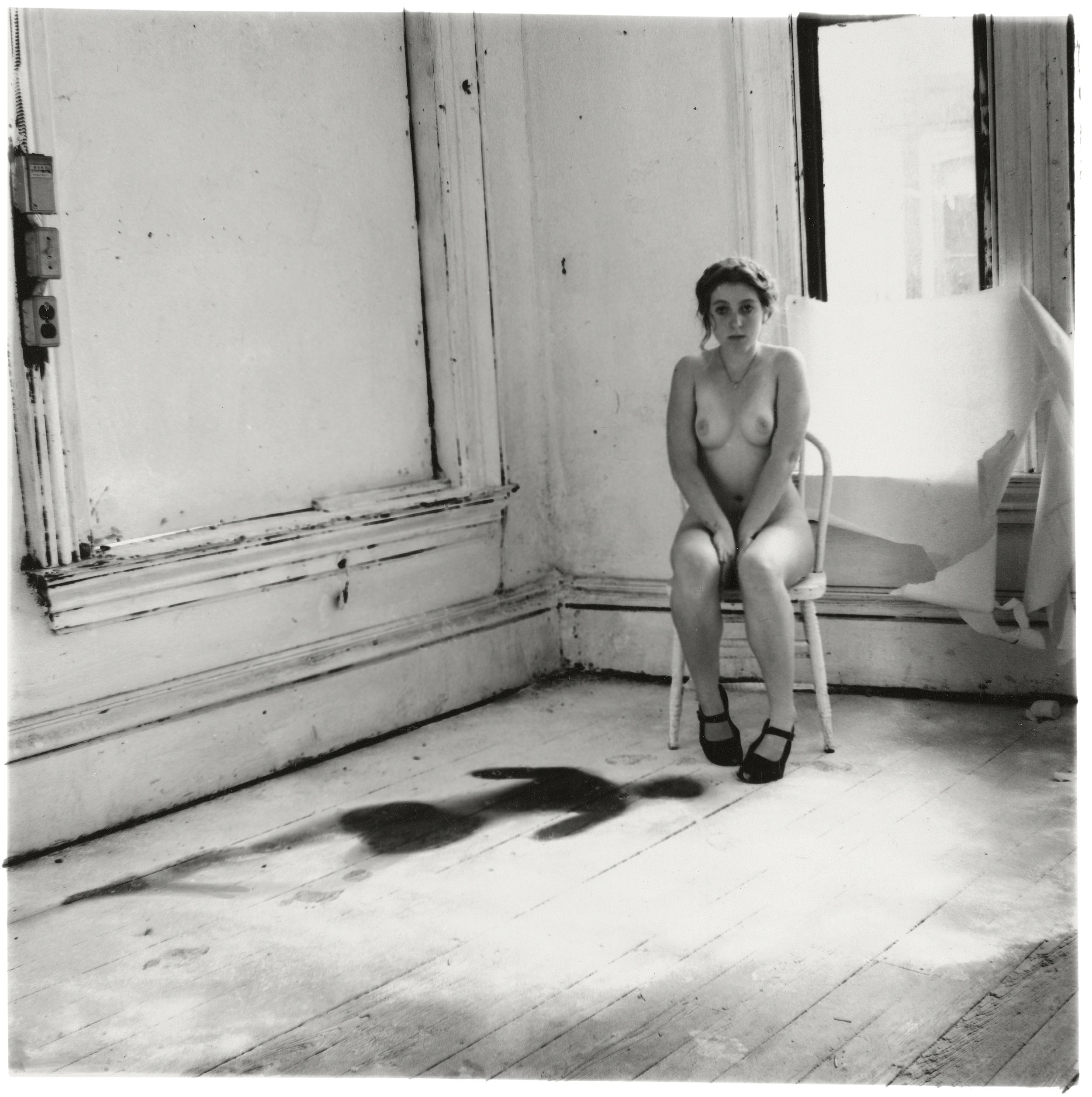 Francesca Woodman, Untitled, Providence, Rhode Island, 1976 © George and Betty Woodman