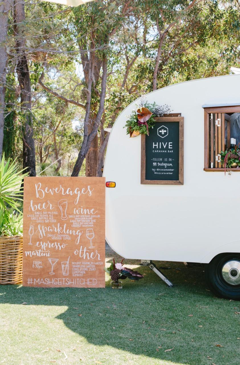 Hive Caravan Bar