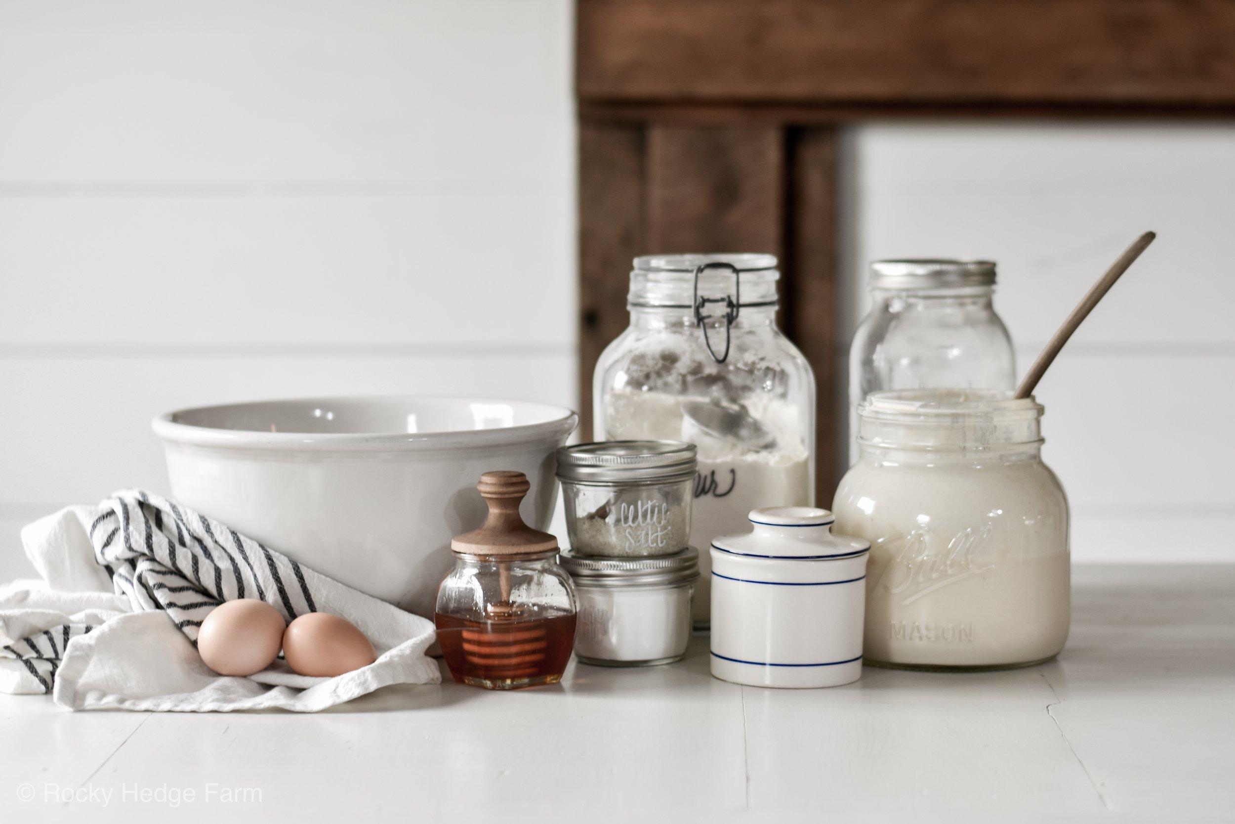 Overnight Sourdough Pancake Recipe   Rocky Hedge Farm