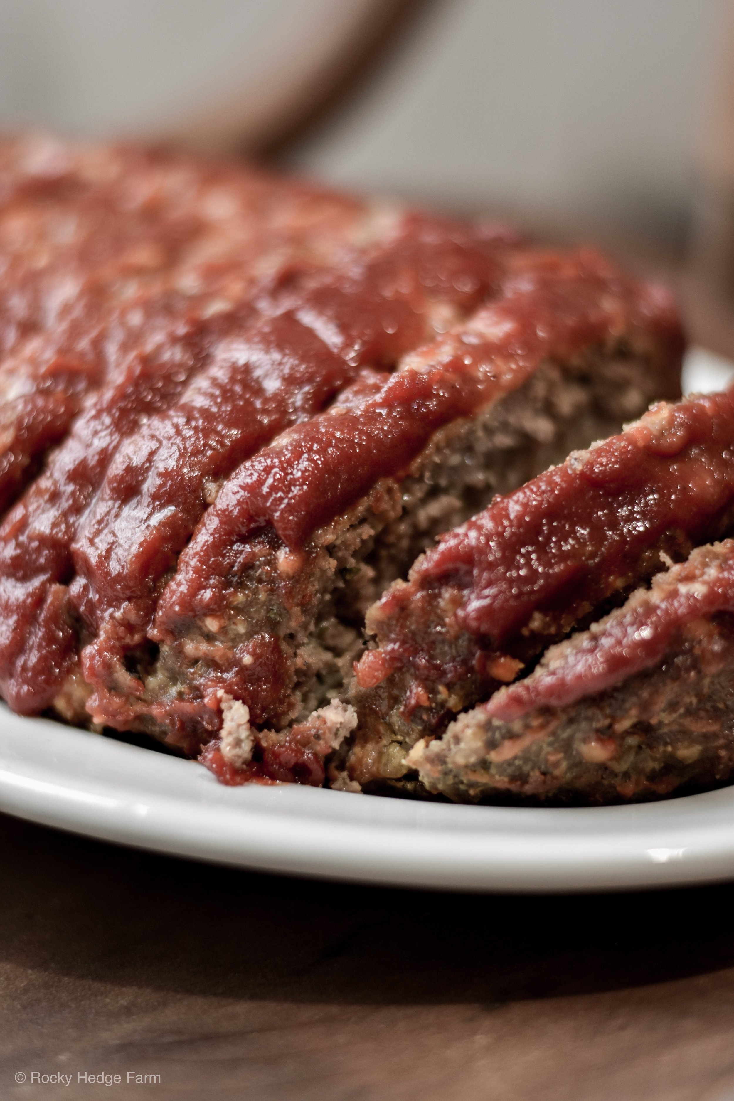 A quick and easy weeknight meal recipe for meatloaf. The best healthy herb and cheese meatloaf. Low-Carb, Sugar-Free   Rocky Hedge Farm