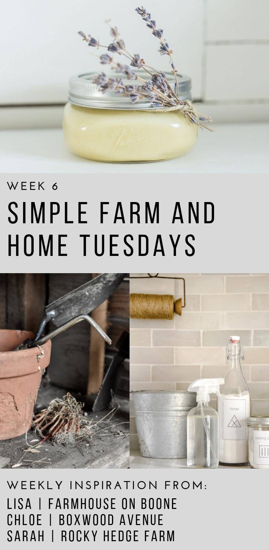 Simple Farm and Home Tuesday Week 6 | Rocky Hedge Farm