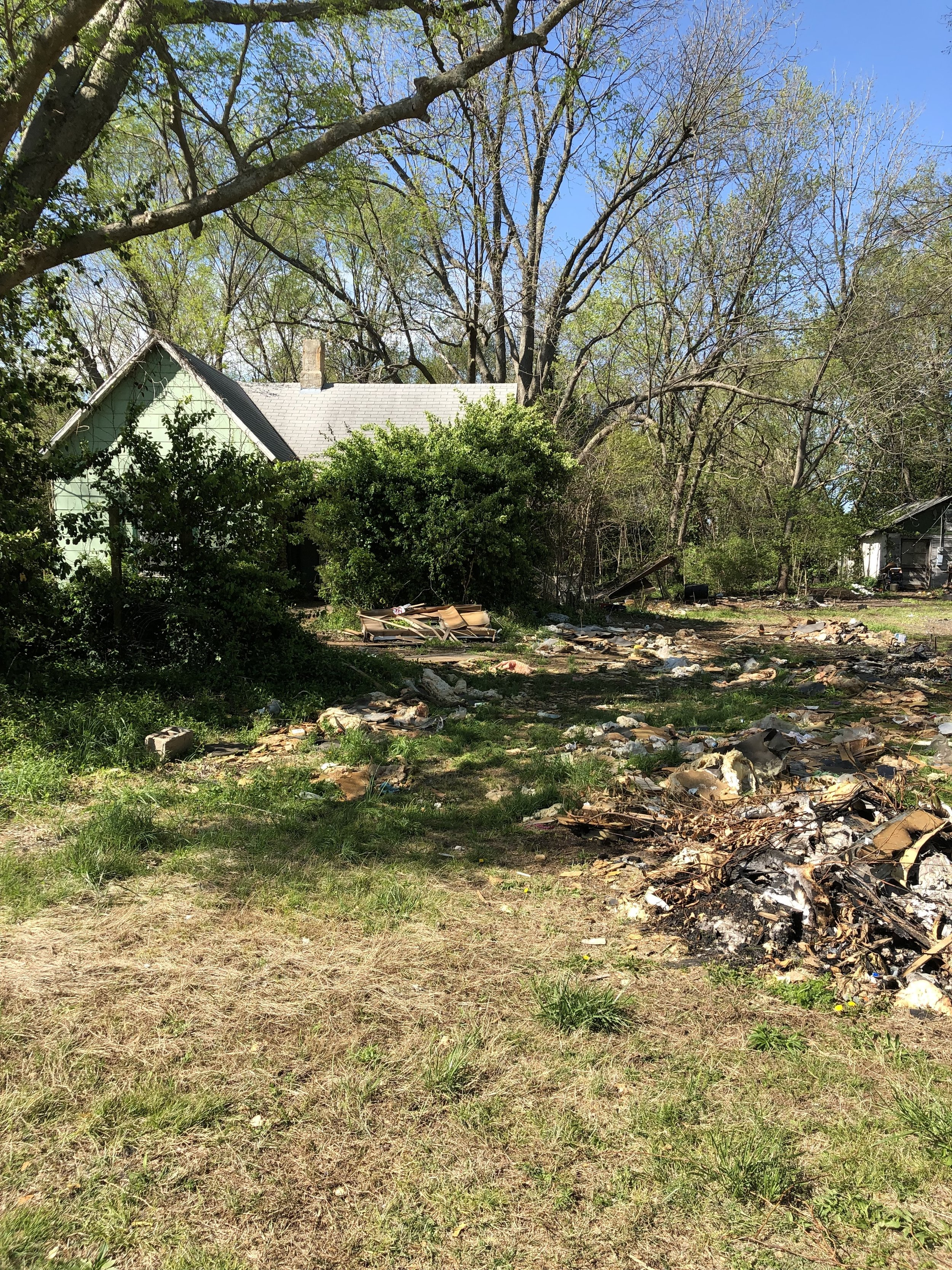 Property Clean Up 4-15-2019 | Rocky Hedge Farm