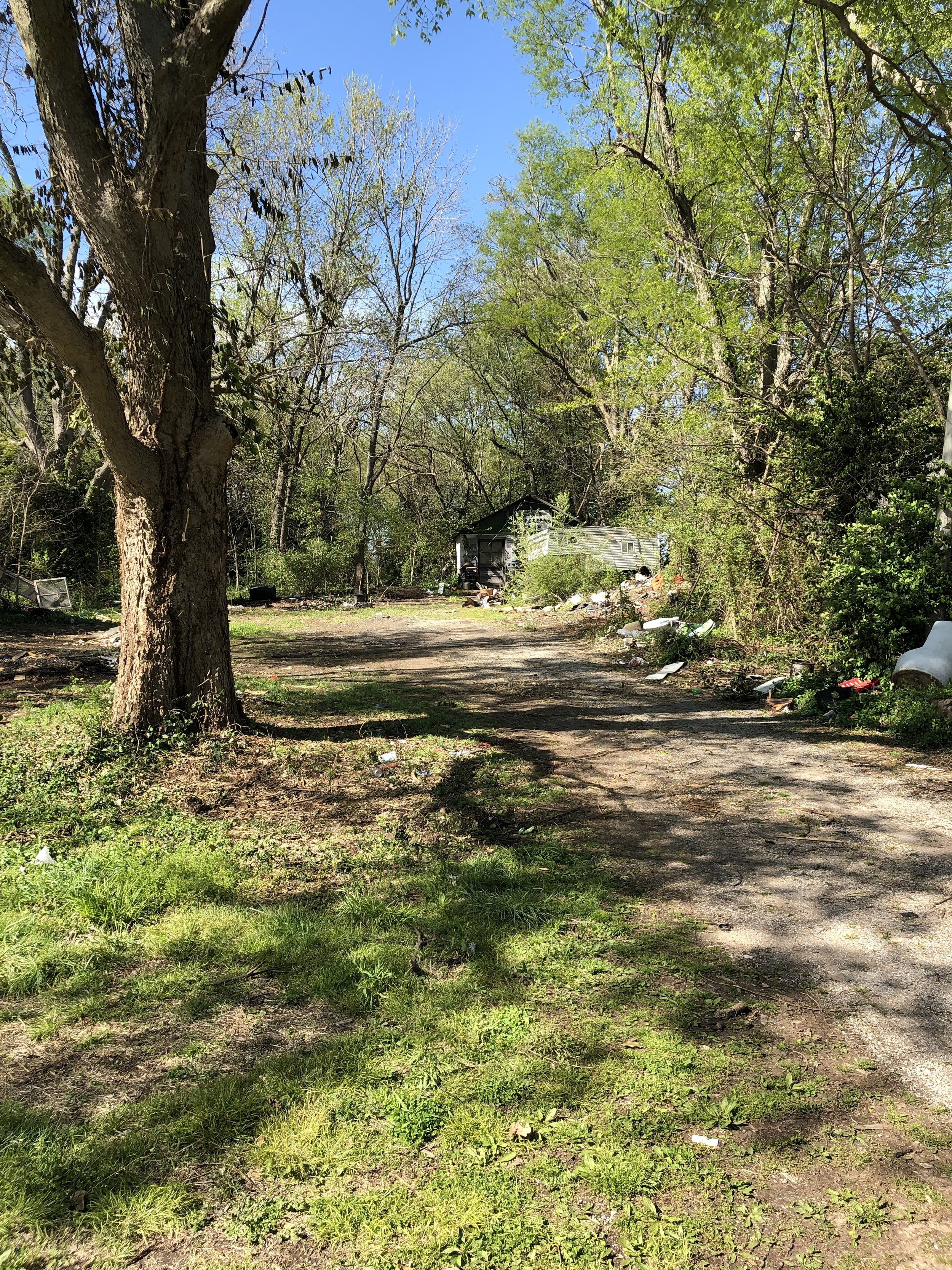 Property Clean Up Drive 4-15-2019 | Rocky Hedge Farm