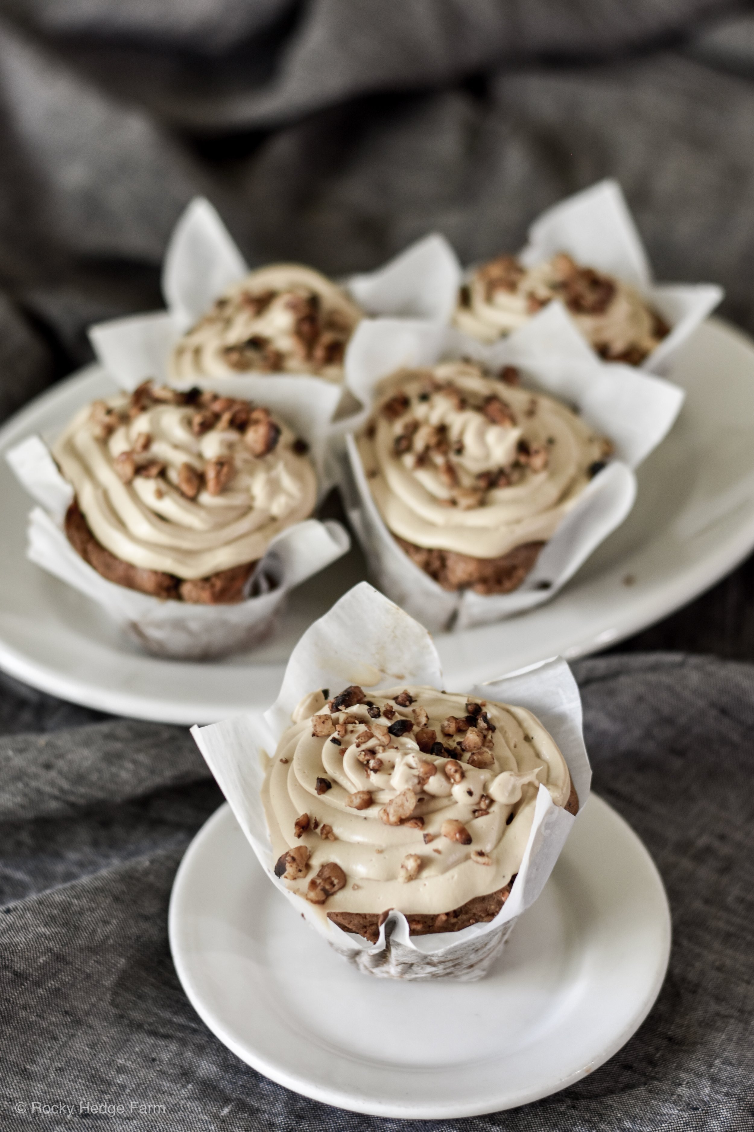 Sourdough Recipe for Carrot Cupcake. | Rocky Hedge Farm