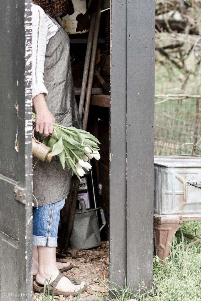 DIY亚麻围裙围裙为妇女|岩石对冲农场亚博体育阿根廷合作伙伴