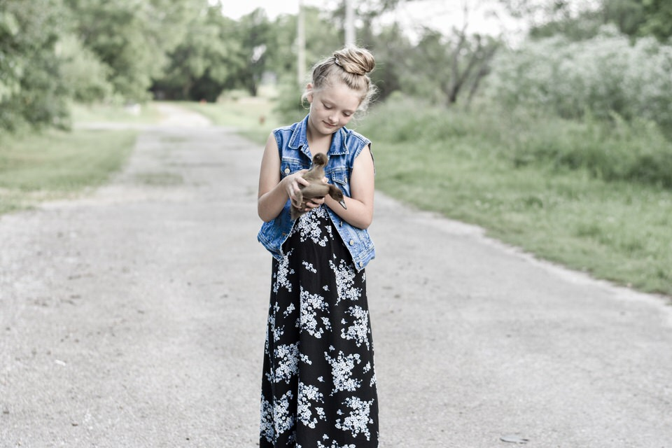 Upcycled Adult Clothes Into Girls Wardrobe | Rocky Hedge Farm