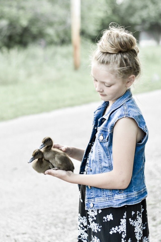 Girls UpCycled Denim Jacket | Rocky Hedge Farm