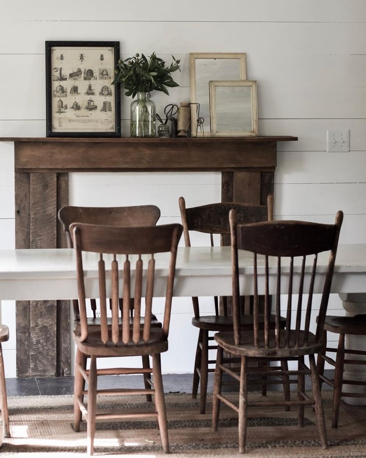 How To Mismatched Dining Room Chairs | Rocky Hedge Farm