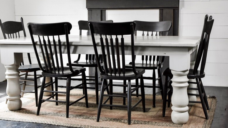 Double+Wide+Mobile+Home+Dining+Room+Remodel+with+Black+Rustic+Dining+Chairs.jpg