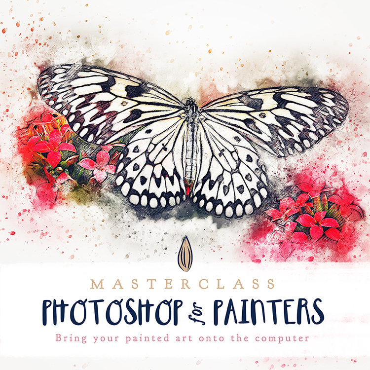 Photoshop for Painters from Brooke Glaser and Megan Dunagan