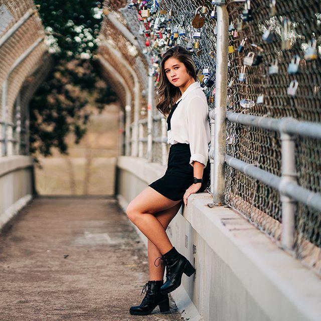 Not quite as impressive as the one in Paris, but Houston does have its very own locks of love bridge and it's one of my favorite spots to shoot at. . . . . . . . . . #houstonseniorphotographer #locksoflove #downtownhouston #houstonseniorpictures #urbanprincess #grungeoutfit #90saesthetic #katyseniorphotographer #katyseniorportraits #grhs #seniorszn #seniorpics #postitfortheaesthetic #streetstyleinspo #houston_photographers #thewoodlandsphotographer  #exploretocreate #soloverly #pursuepretty #houston_insta #houstonphotoshoot #modernsenior #senioryear #thetwelfyear #theseniorcollective #marvelous_shots