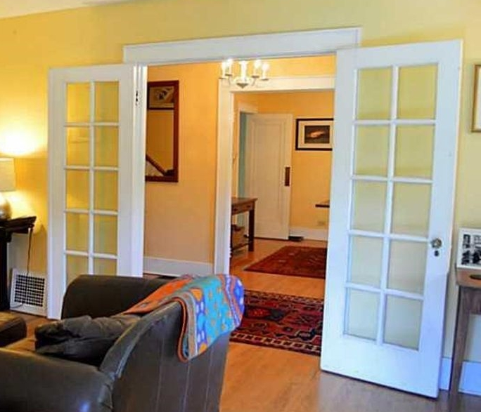 the French Doors long Before our work began ...
