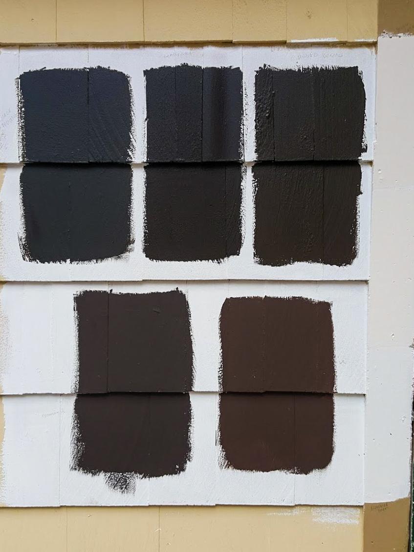 Our Top Dark Brown Exterior Paint Colors For Our Dutch Colonial Salt Rook