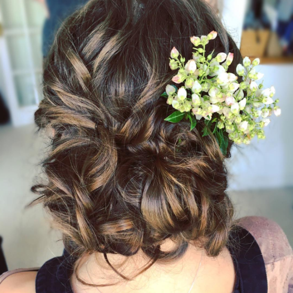 devon wedding hair and makeup
