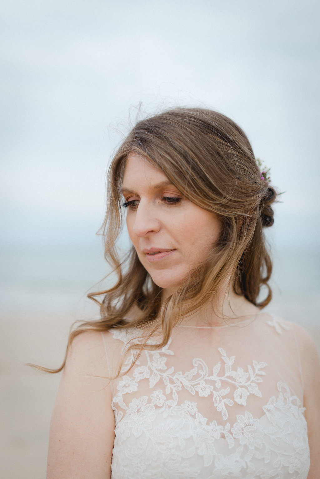 Salt&Sea.Co st ives weddings hair and makeup