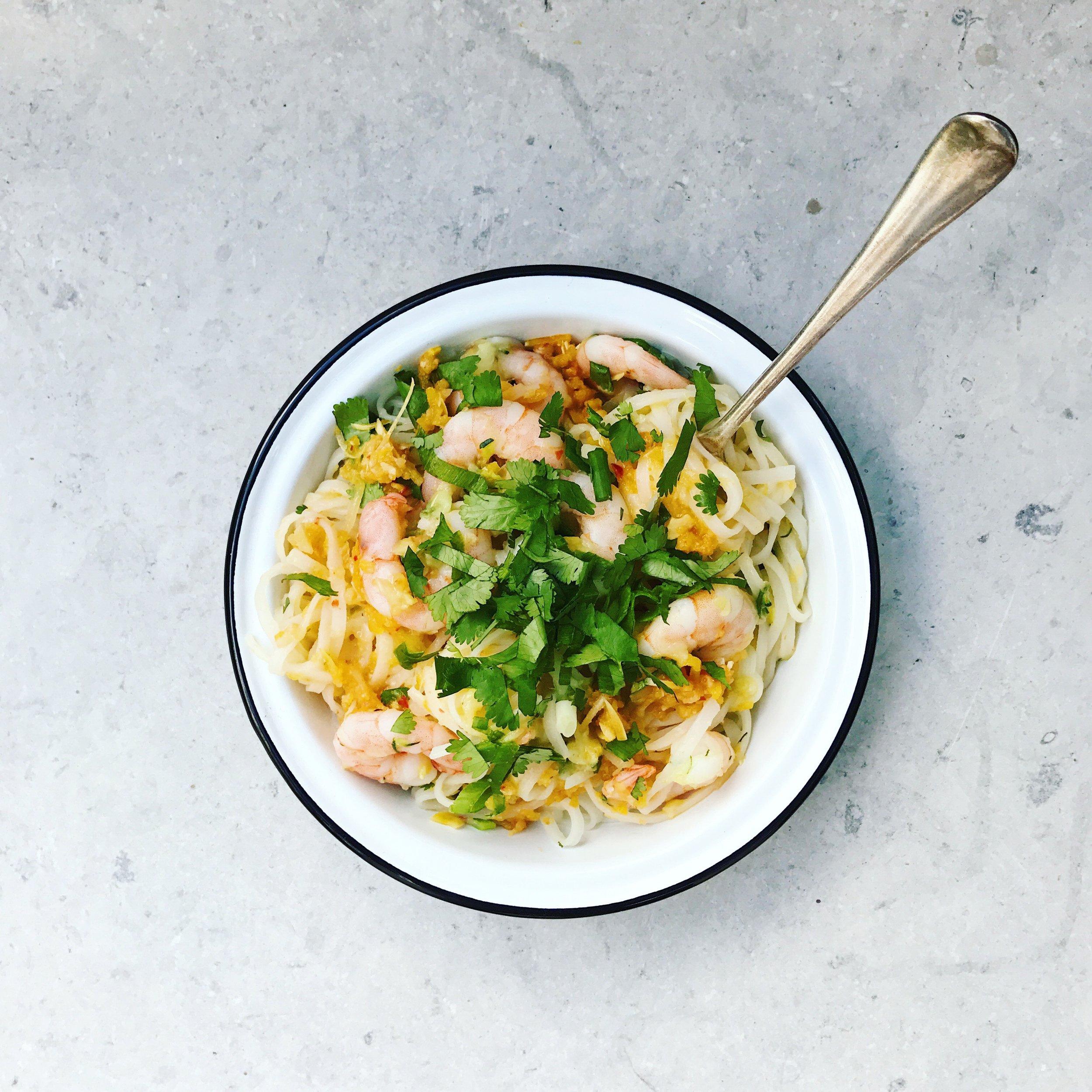 kimchi-prawn-noodles