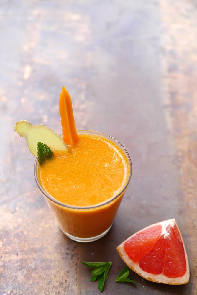 Carrot + Cauliflower Kefir SmoothieJPG