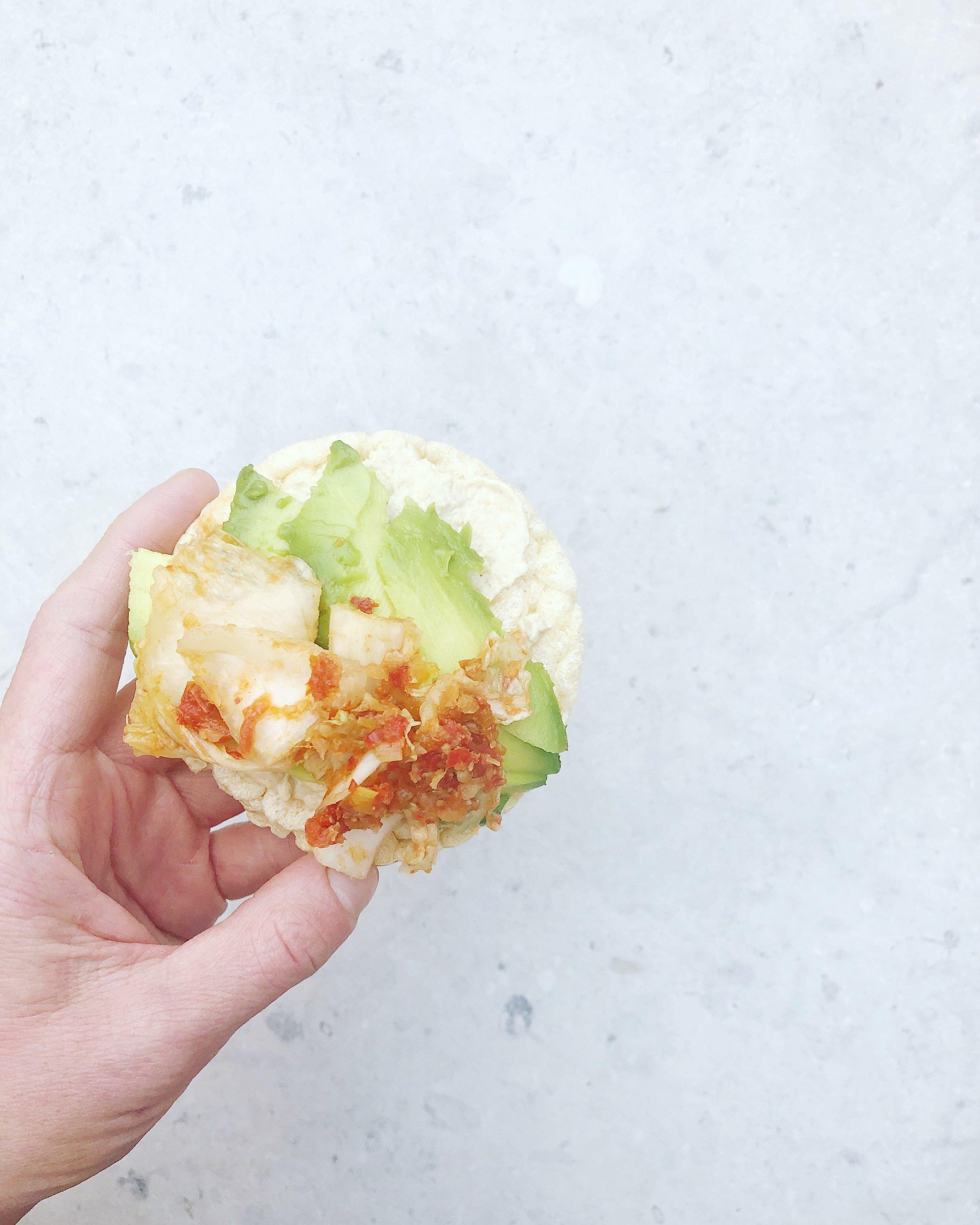 kimchi snack