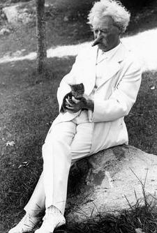 Mark Twain and Cat Tuxedo Park.png