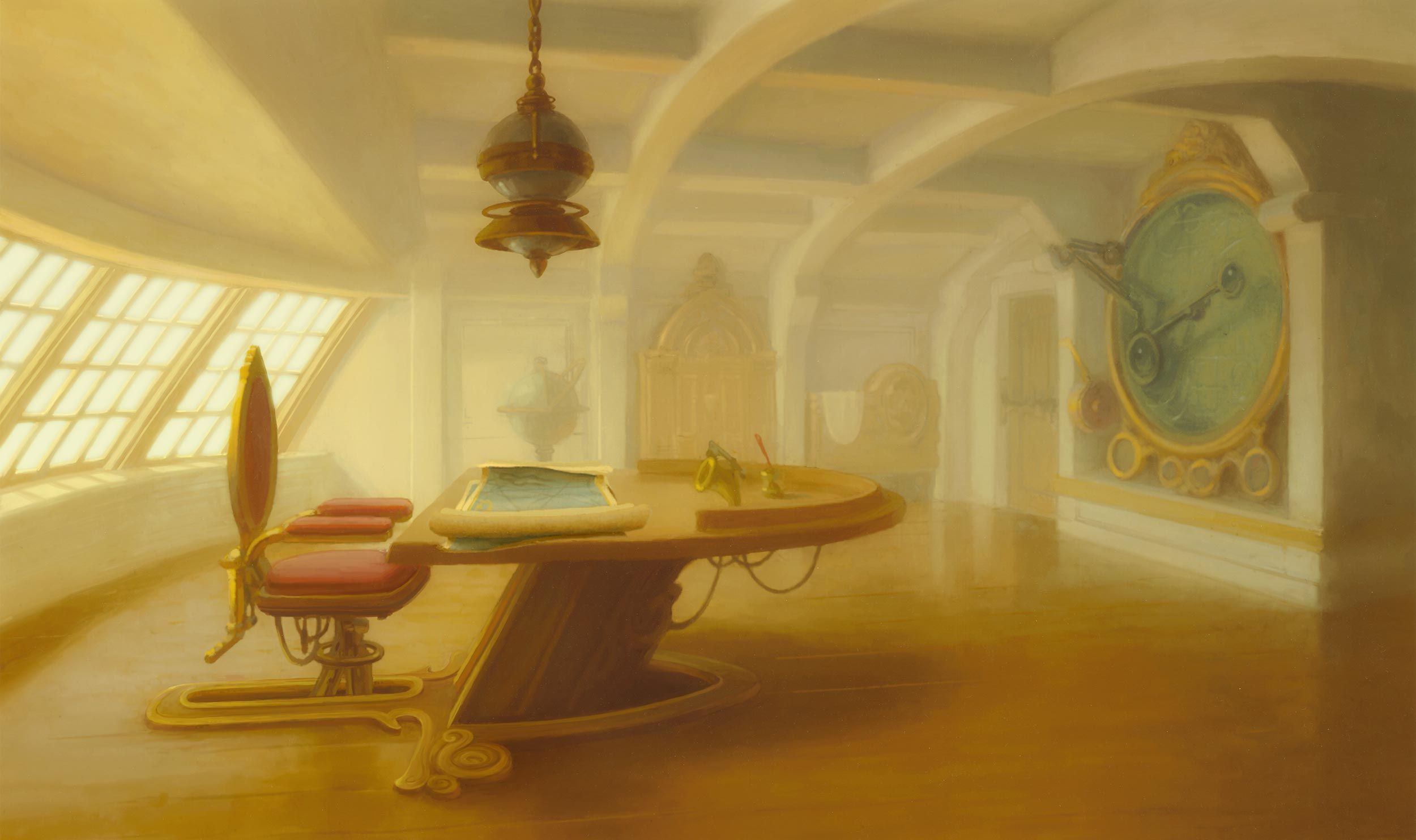 Digitally painted in Disney's Digpaint software. Copyright © 2002 Disney