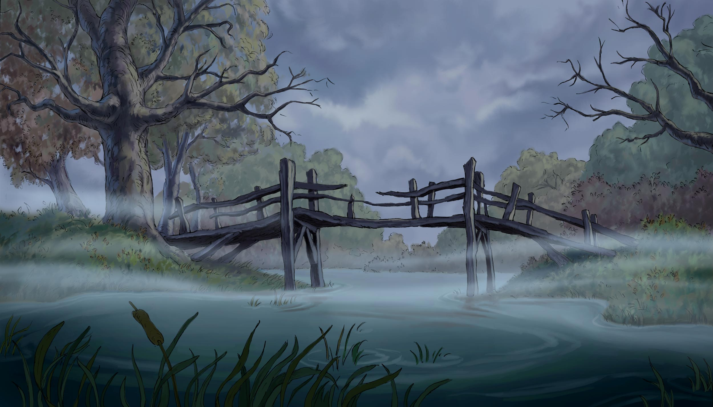 Digitally painted in Photoshop.   Copyright © 2005  Disney