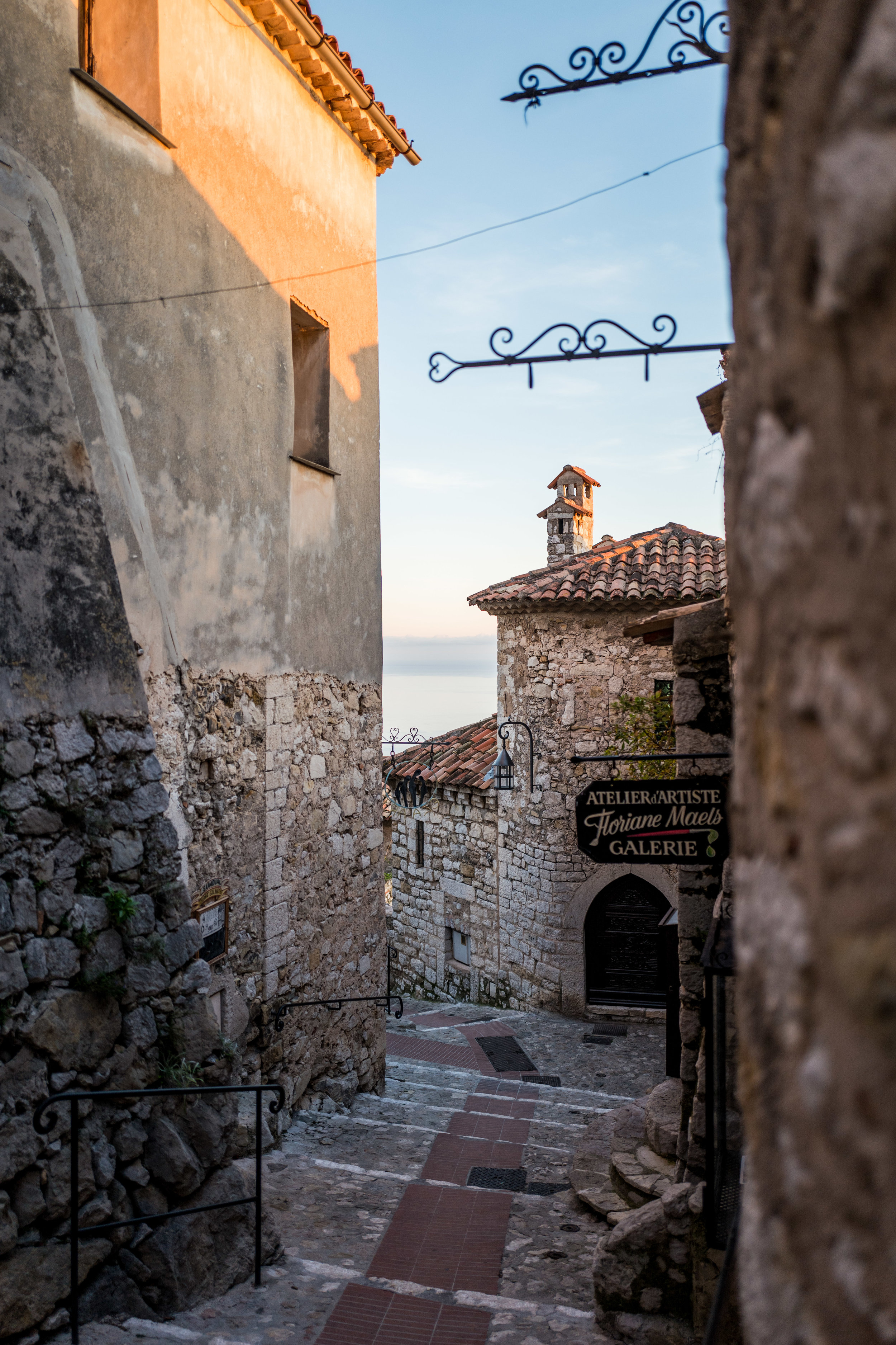 Stairs at Eze