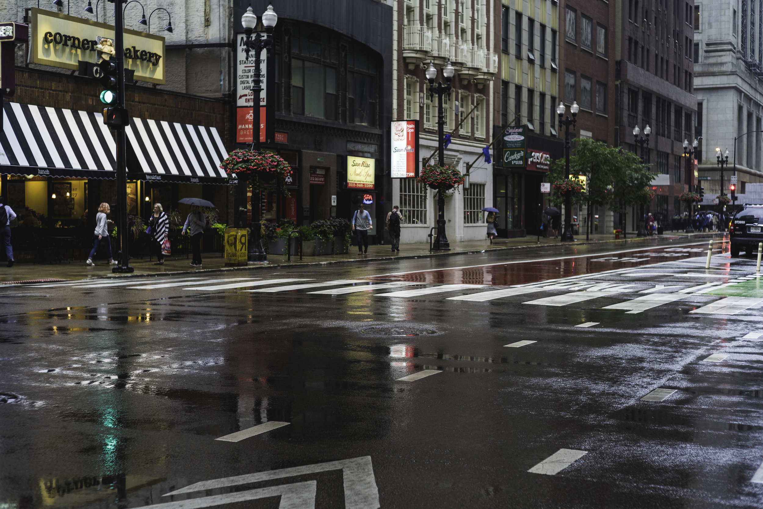 Rainy Chicago St.
