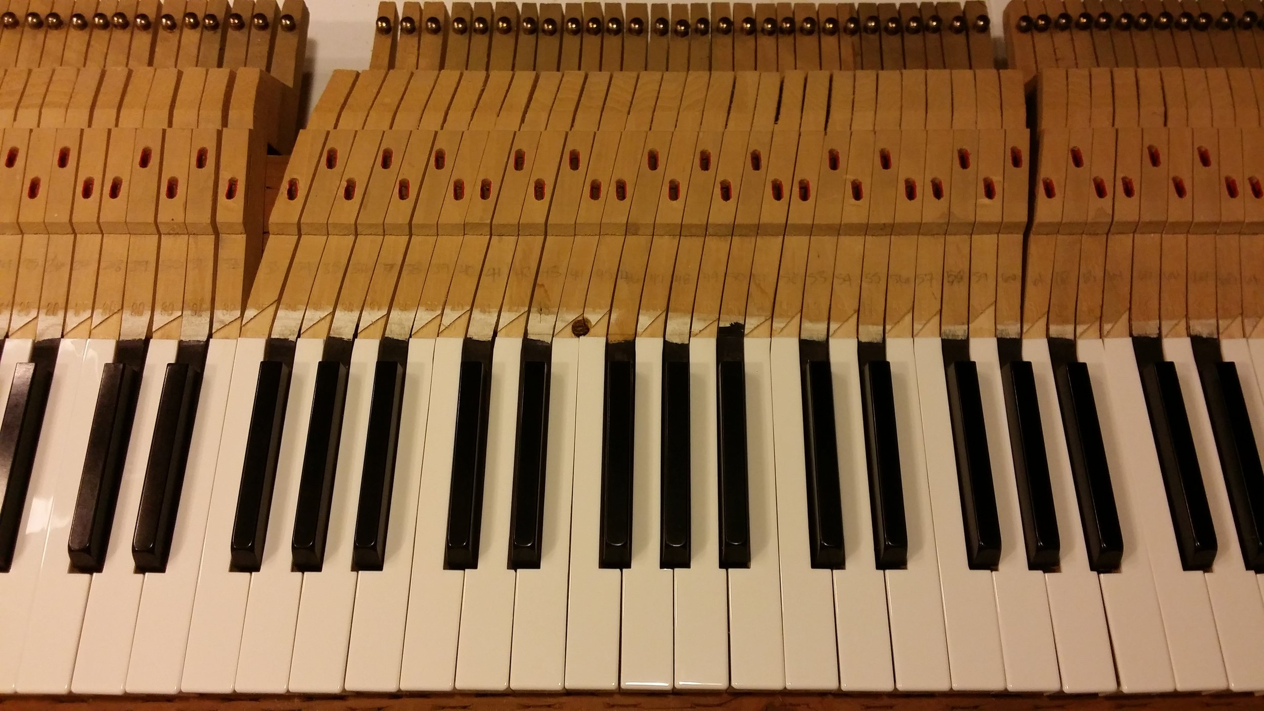 New Keytops Ready for Installation