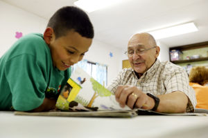 Partnering... - with area schools, Big Pal/Little Pal provides after-school tutoring, help with homework, and a safe environment for children in at-risk communities.