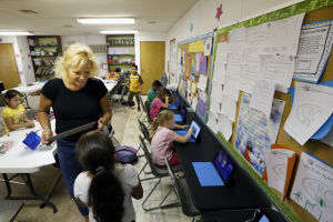 Empowering... - our kids with reading and math skills to help them succeed.
