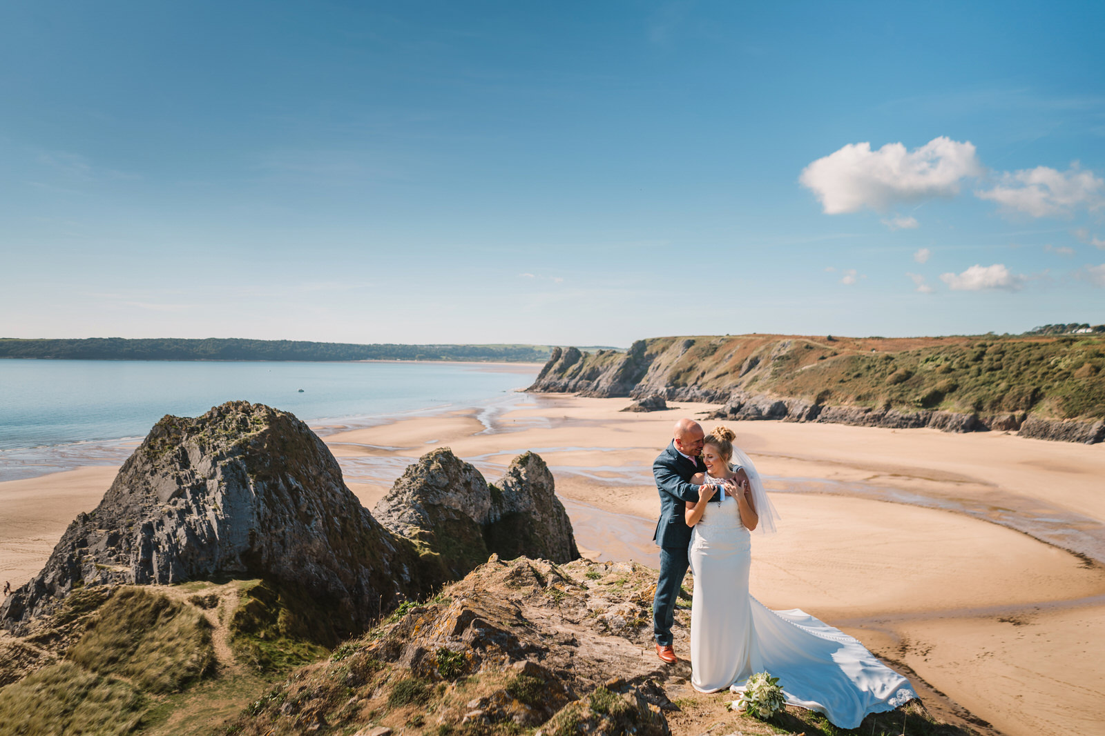 South Wales offer some of the most breathtaking wedding venues. - Whether it's amongst the beachside venues of Gower, the urban city centres of Swansea, Cardiff, or even the mountain peaks of Brecon. As long as there's a little adventure & passion for creativity, we're in! When we aren't filming a wedding, we're out scouting, looking beyond the obvious to find dramatic views or rustic backdrops & matching them to your individual personalities.Get to know our relaxed style by having a good nose through our fully loaded wedding photo & video blogs.