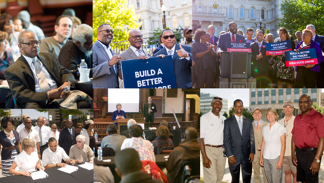 Baltimore community leaders and residents support State Center.    View More Photos   >