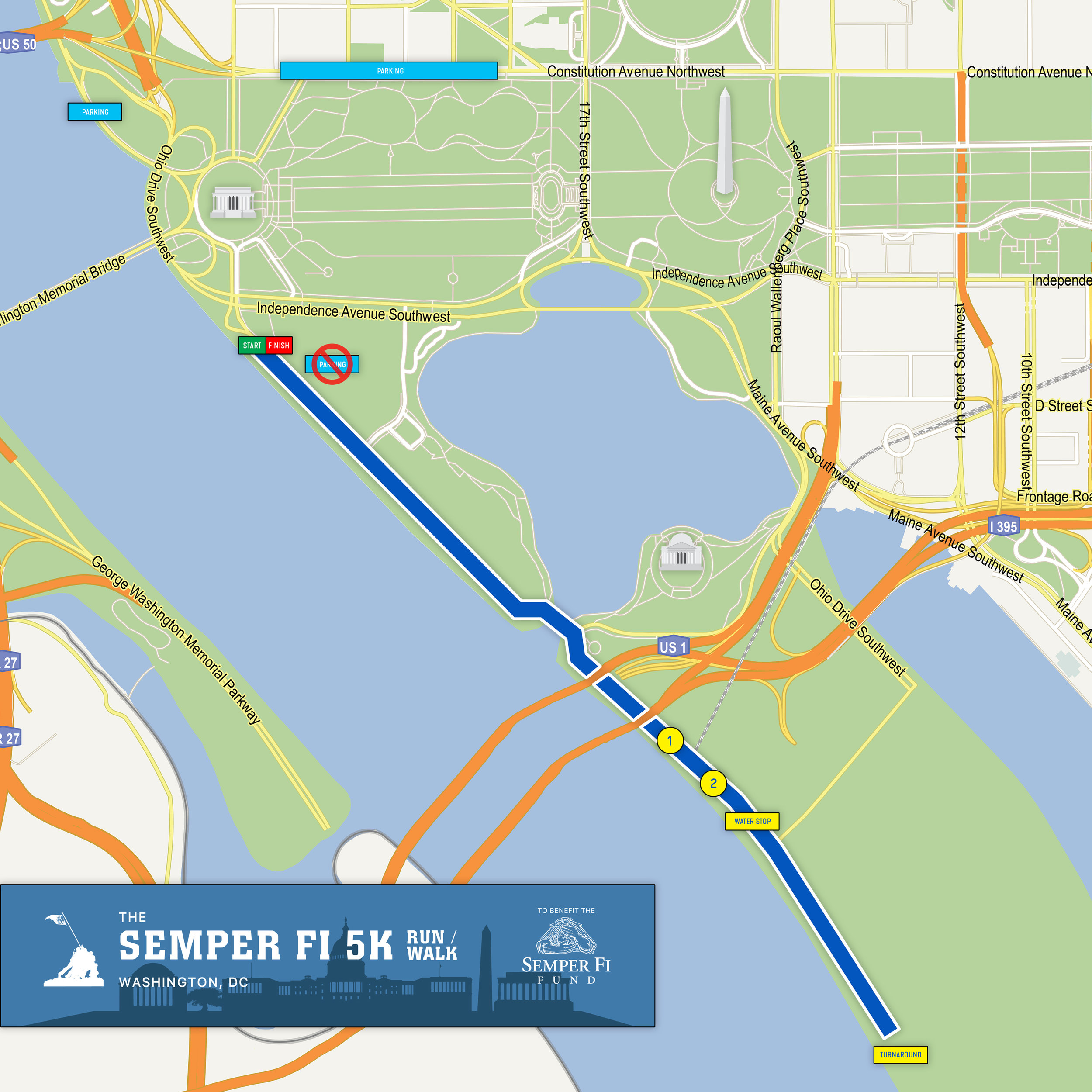 SEE COURSE MAP