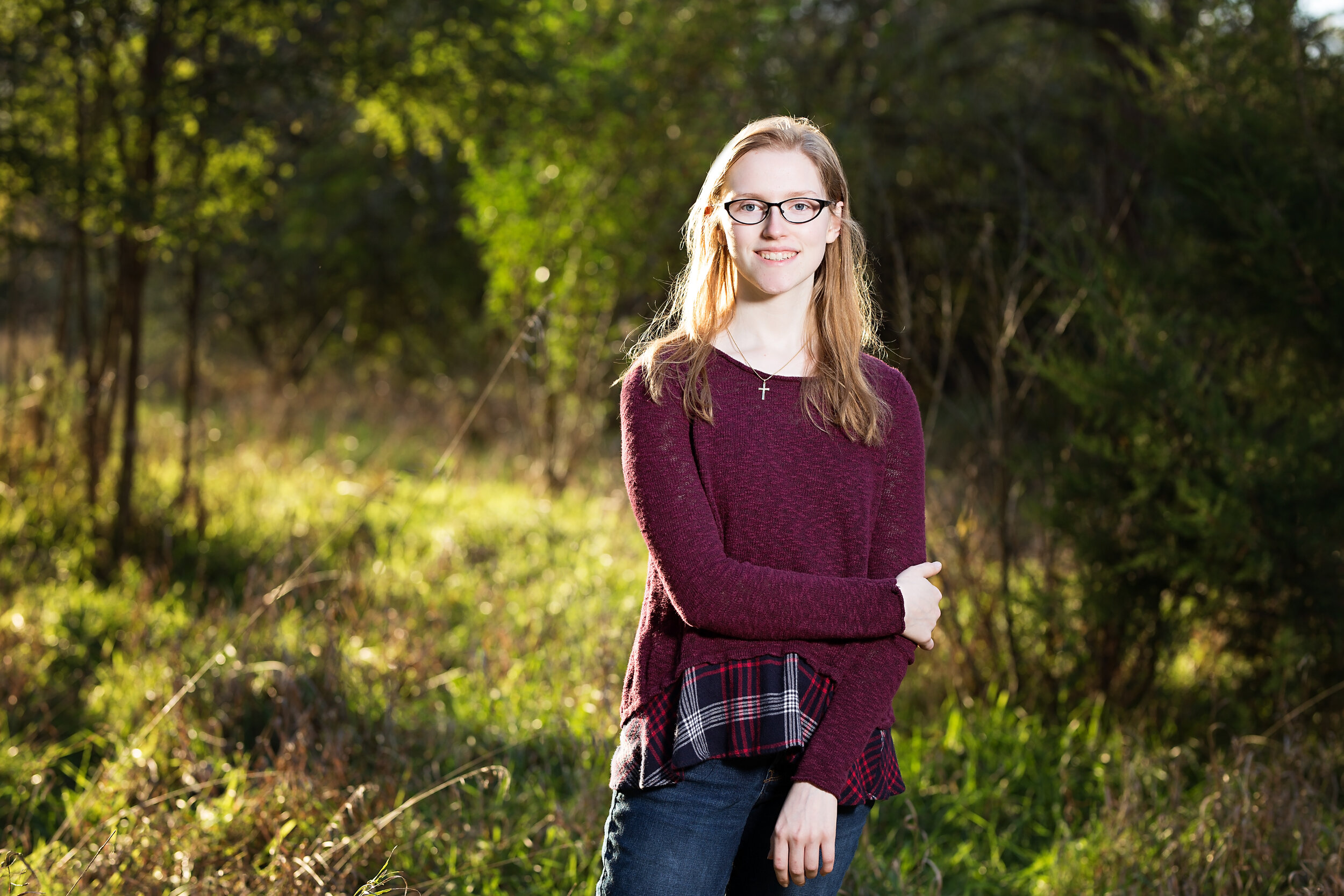 girl senior picture