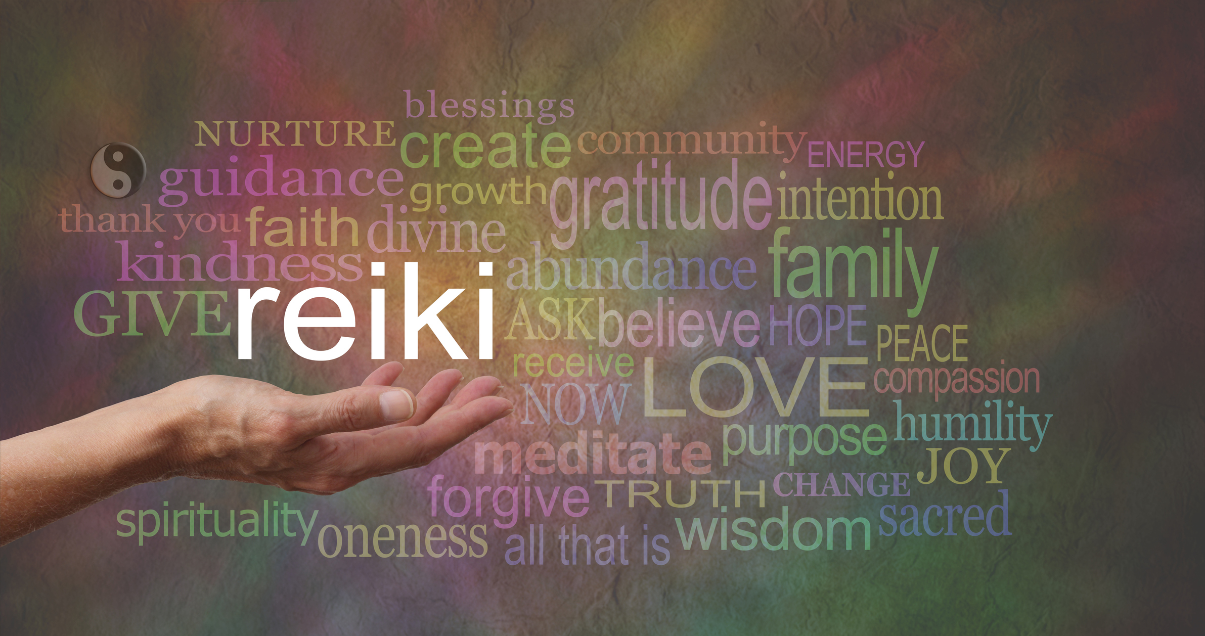 Reiki enhances and expands the life force energy that naturally circulates throughout your body.