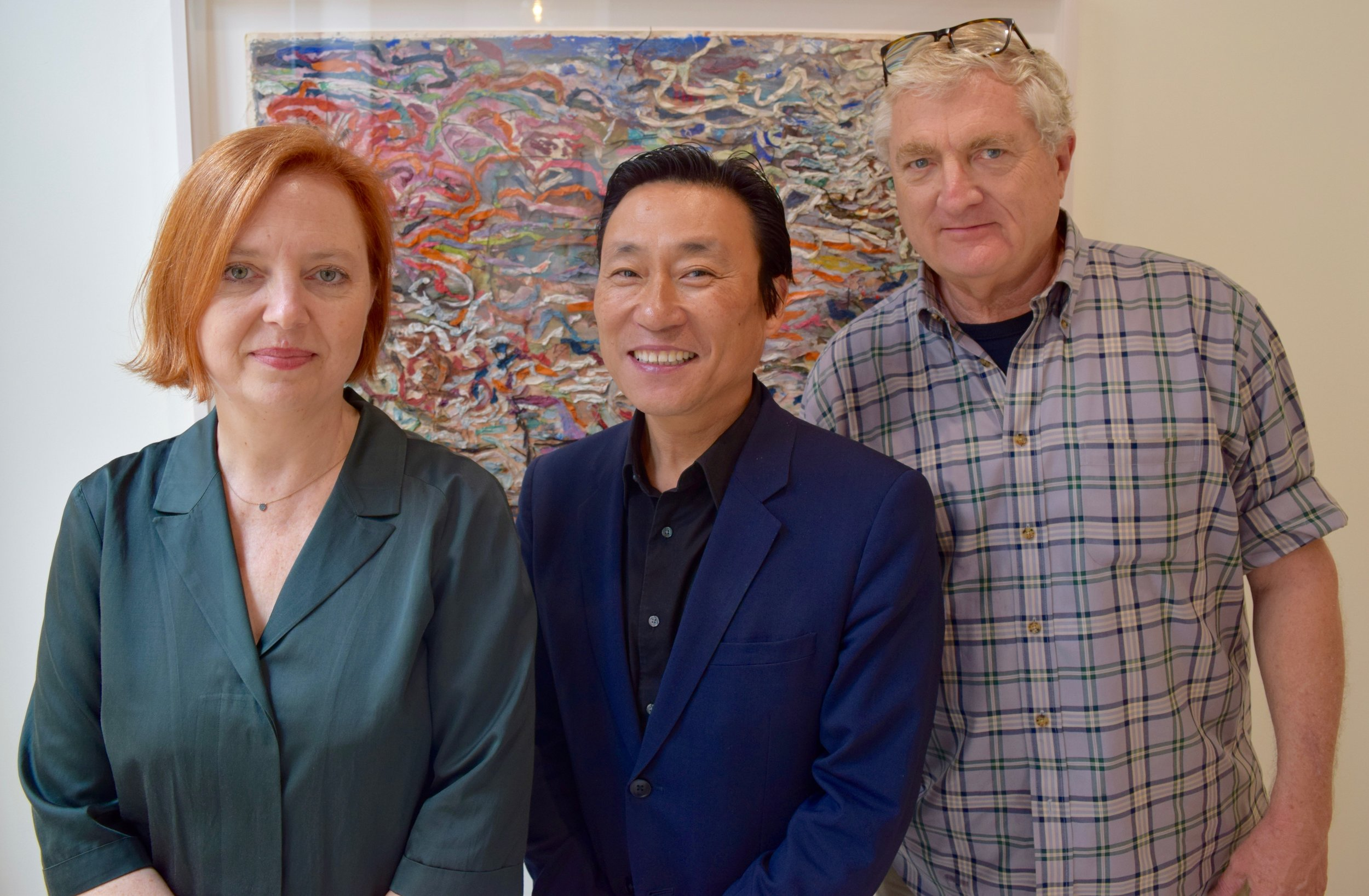 Rabkin Foundation Awards $400,000 to Art Journalists - Eight Visual Art Journalists Win $50,000 EachFrom left to Right: Jurors Lisa Gabrielle Mark, Publisher at the Los Angeles County Museum of Art, Paul Ha, Director of the List Visual Arts Center at Massachusetts Institute of Technology, Cambridge, Massachusetts and Walter Robinson, artist, art critic, and former editor from New York City.