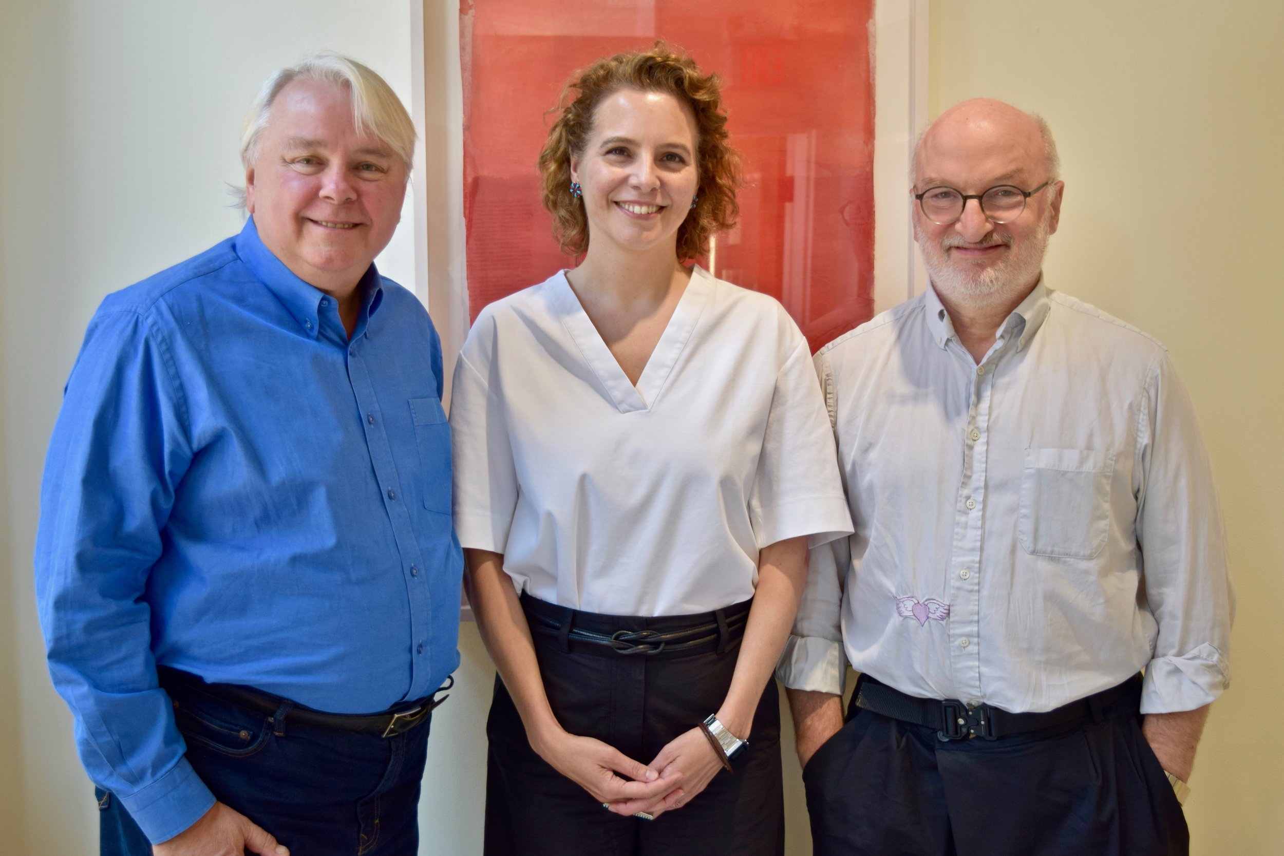 2019 Rabkin Prize Jurors: Dennis Scholl; Rainey Knudson and David Frankel