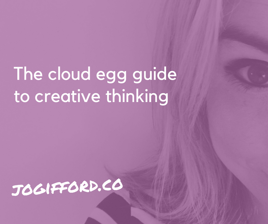 cloud egg guide to creative thinking