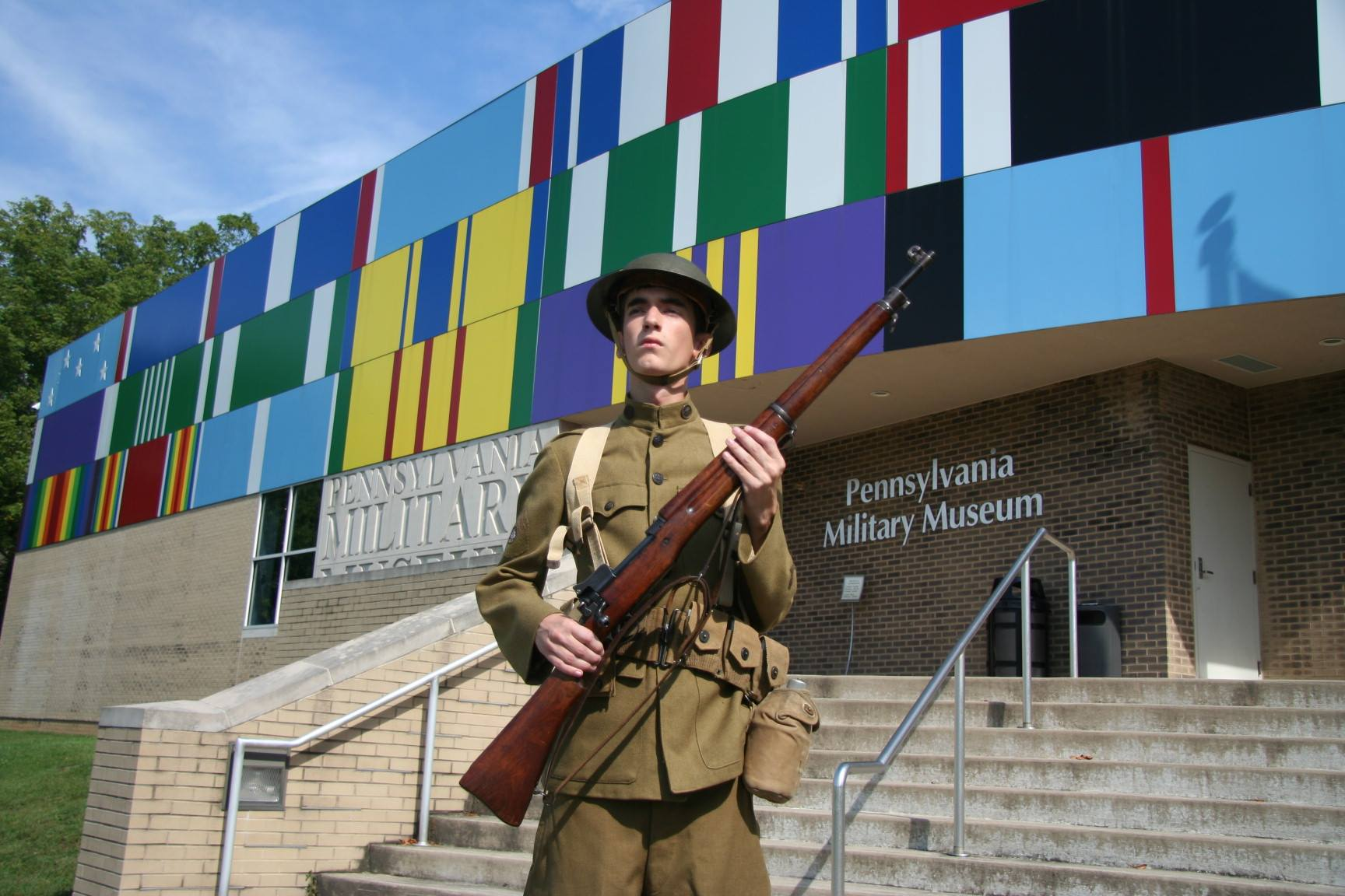 WWI Doughboy and Museum.jpg